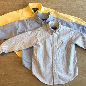 Ralph Lauren Cotton Oxford Shirts - Bundle